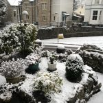 Hillside Kendal in the snow 2018