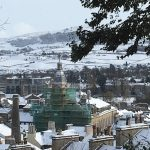 Kendal Town Hall in the snow 2018